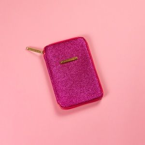 Pink glitter Juicy Couture mini iPad case